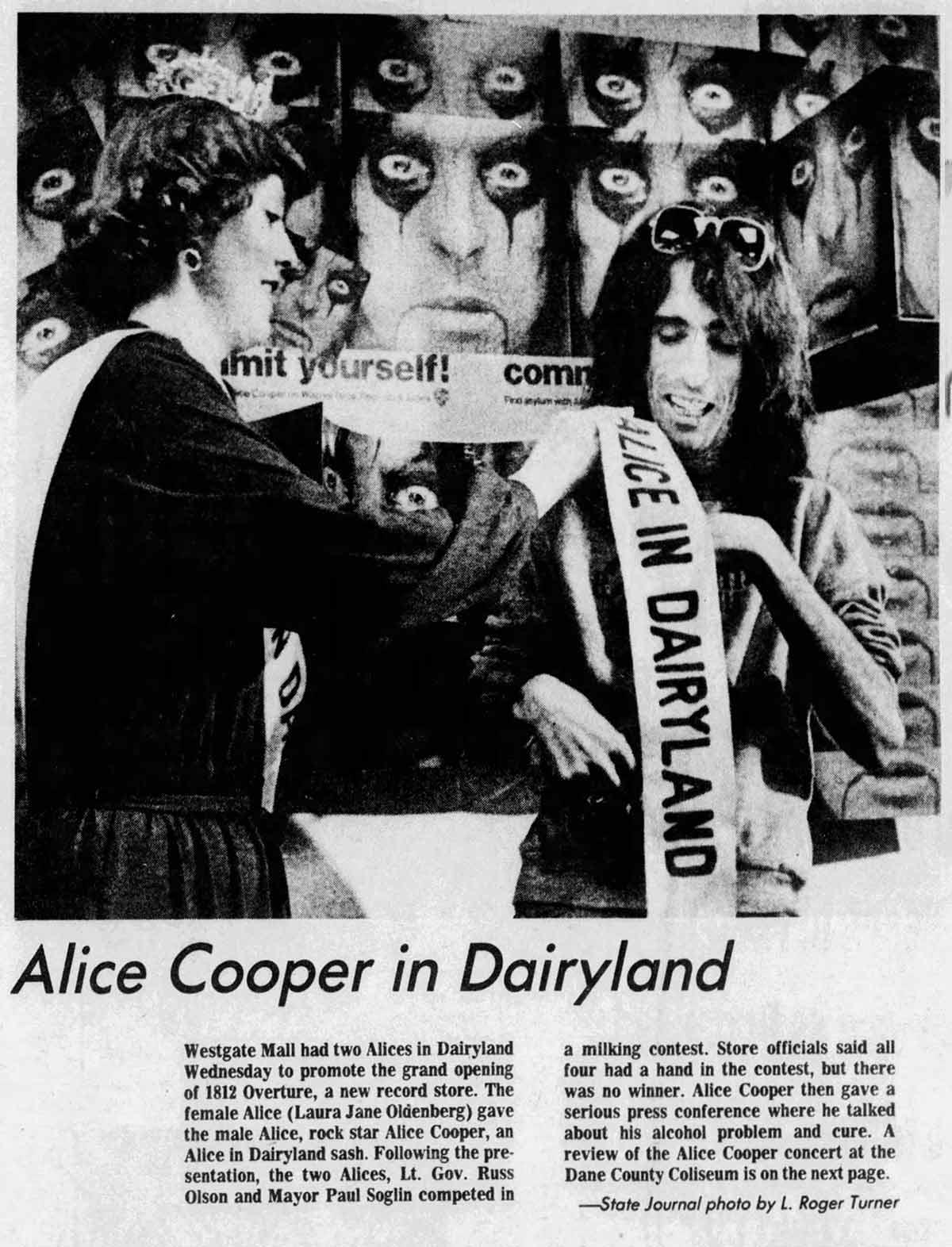 Alice in Dairyland
