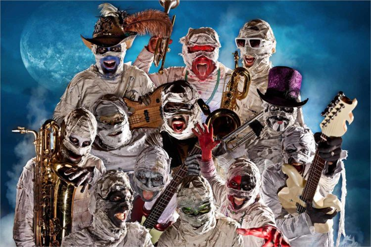 Here Come the Mummies postpone Live on King Street date