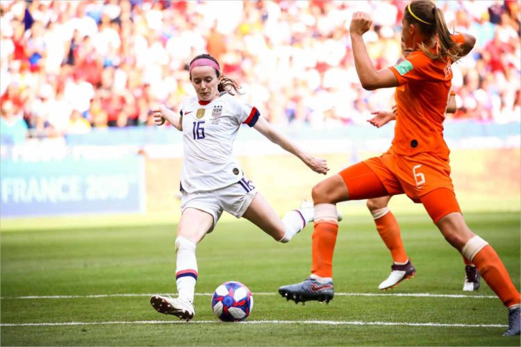 Ex-Badger Rose Lavelle scores goal in World Cup victory