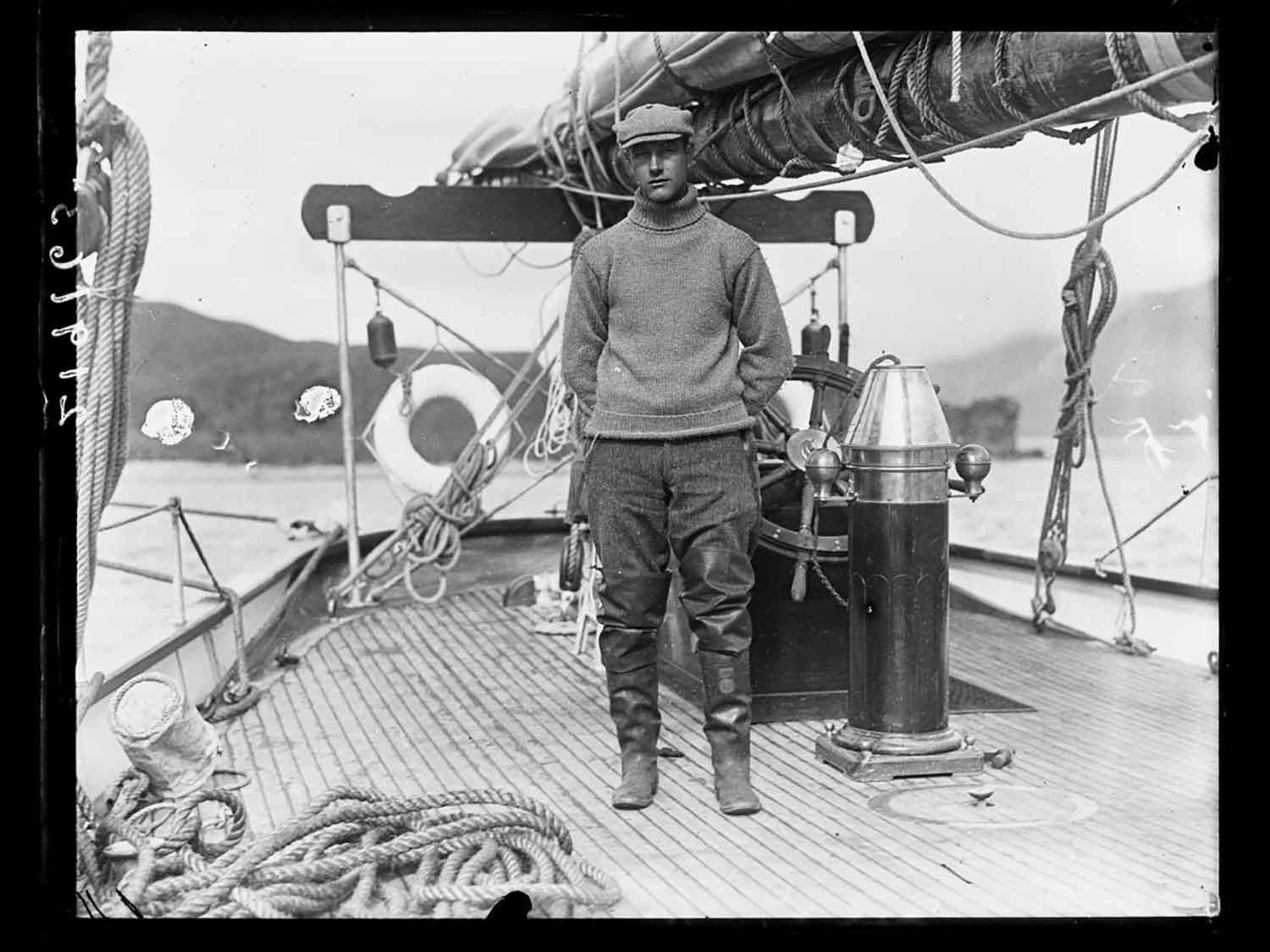 Roy Chapman Andrews boat