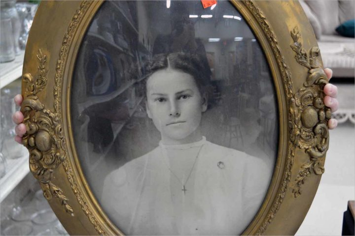 Let's go thrifting: A haunted picture at St. Vinny's on Willy Street