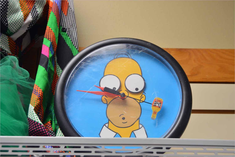 Homer clock