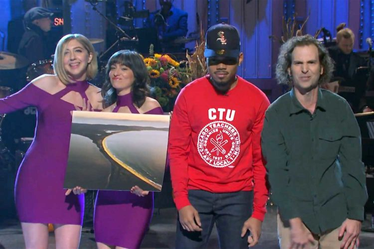 "Chance the Rapper asks on SNL: ""What's an isthmus?"""