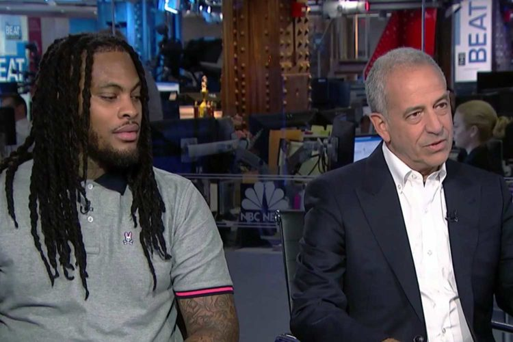 Russ Feingold and Waka Flocka Flame are buds now
