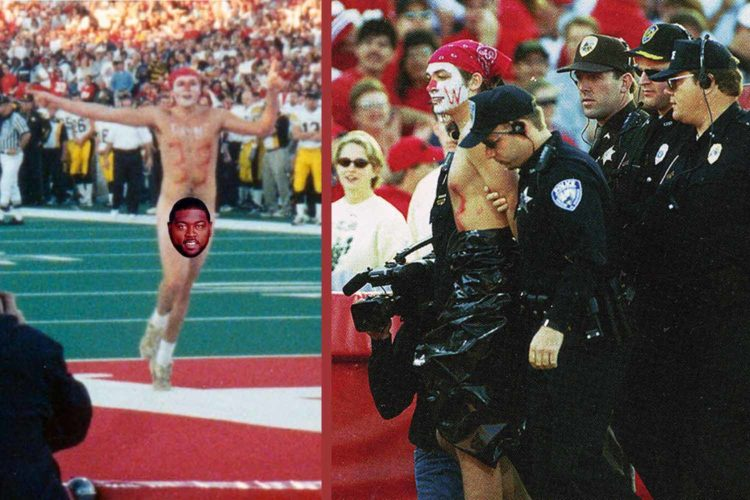 Remembering the Ron Dayne streaker, 20 years later