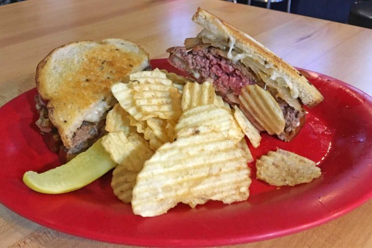 The Great Sandwich Quest: Players Sports Bar's patty melt