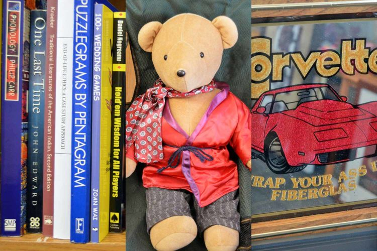 Let's go thrifting: Books, bears and basement art at Agrace Thrift Store