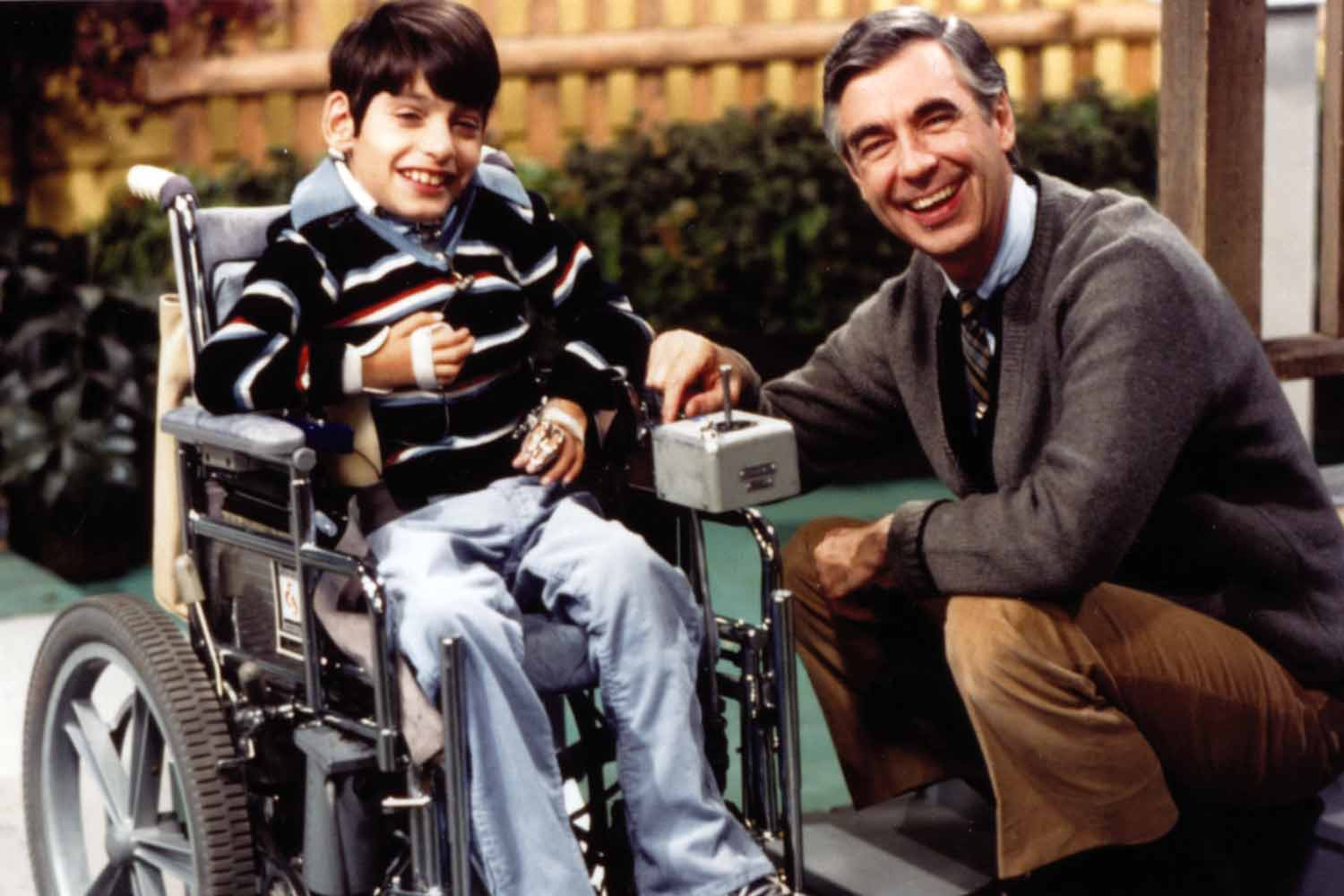 A Madison Boy Was Fred Rogers Favorite Neighbor The Bozho