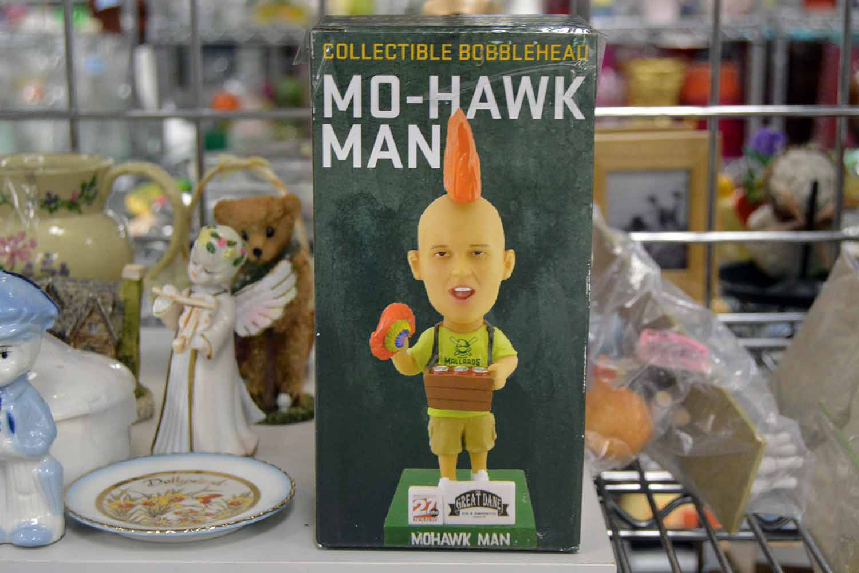 Mohawk Man bobblehead
