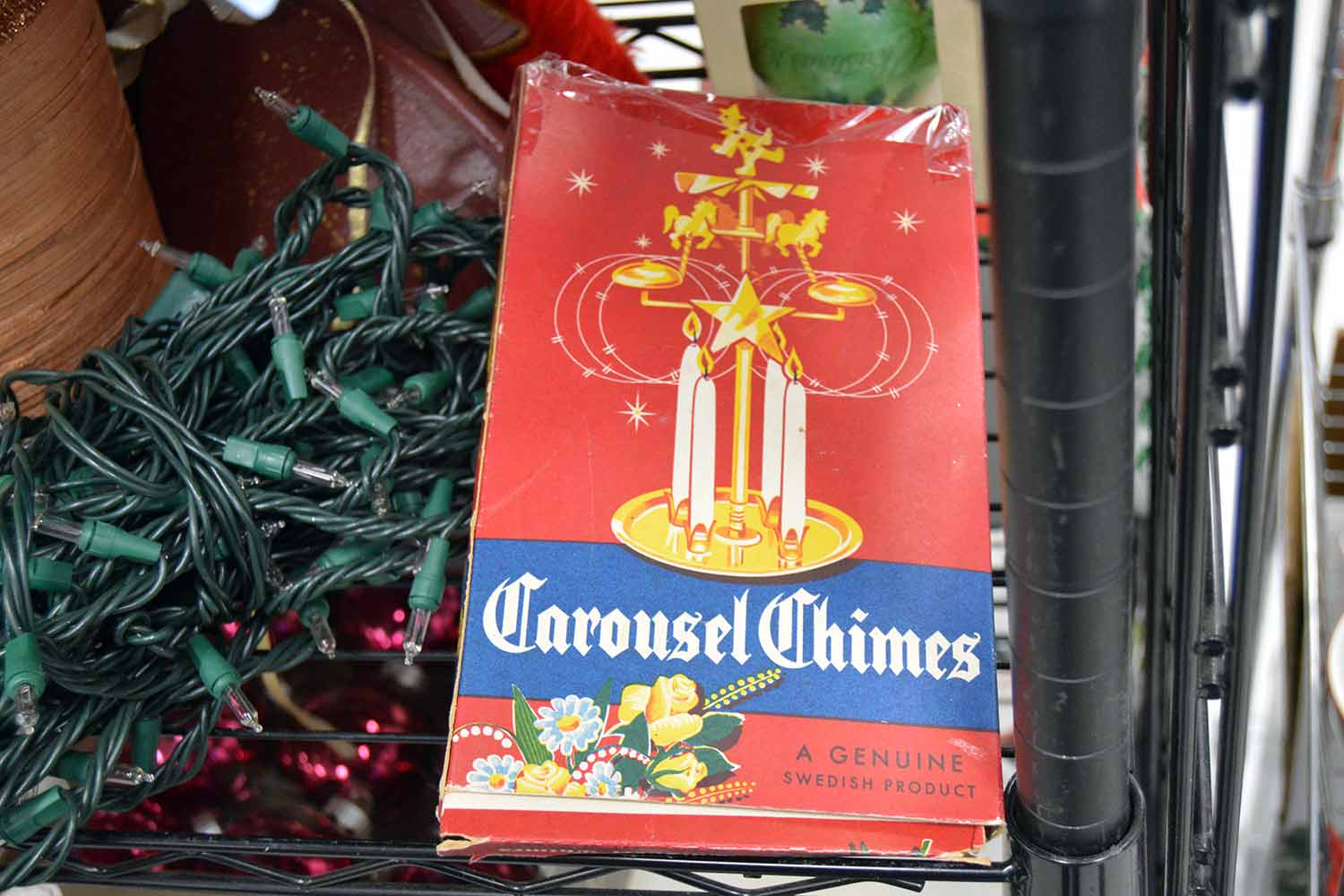 Genuine Swedish carousel chimes