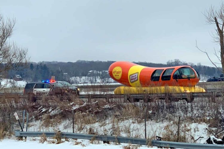 Public menace Wienermobile pulled over in Waukesha County