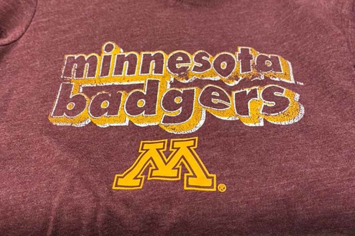 "Target apparently not sports fans, sells ""Minnesota Badgers"" onesie"