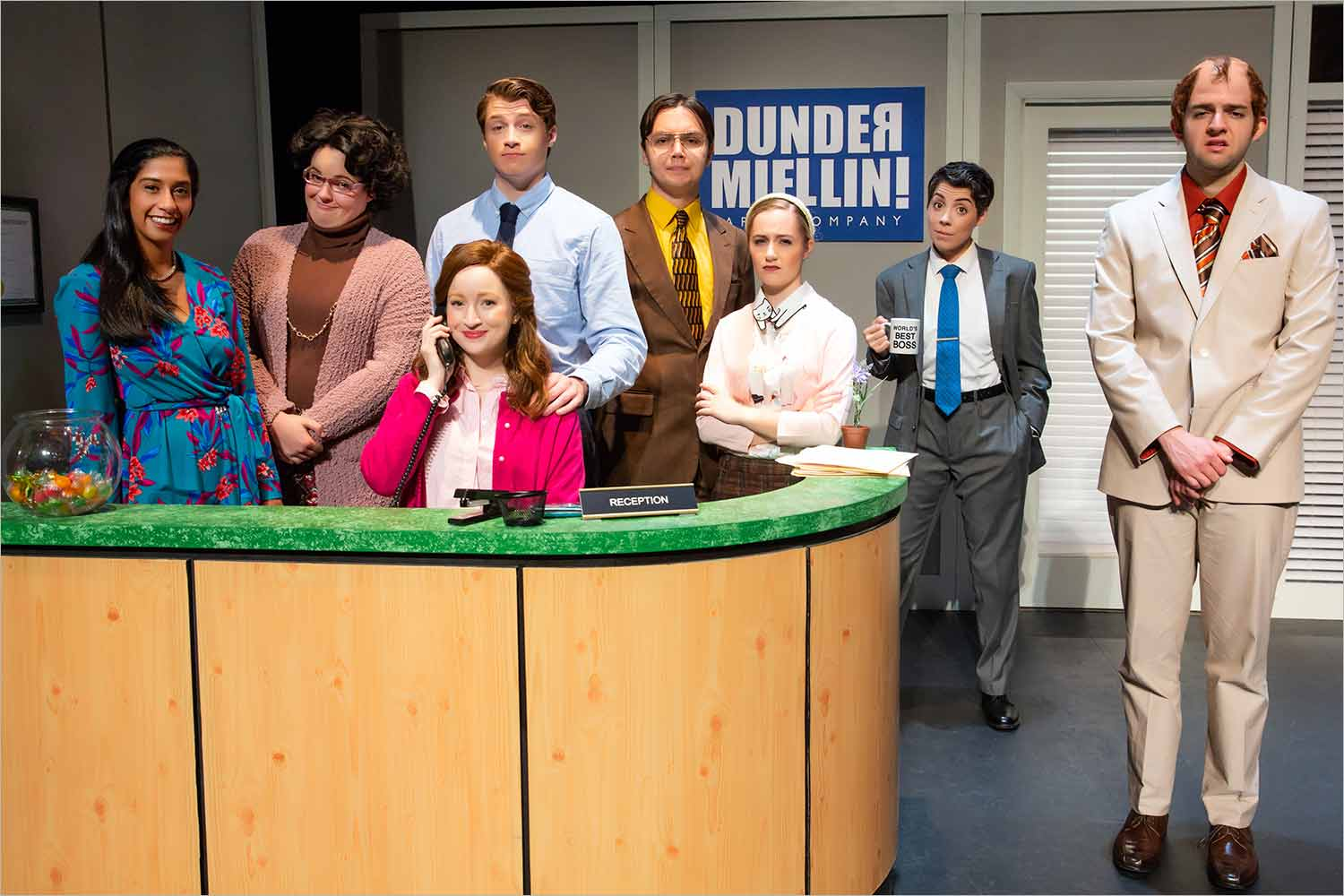 The cast of The Office: A Musical Parody