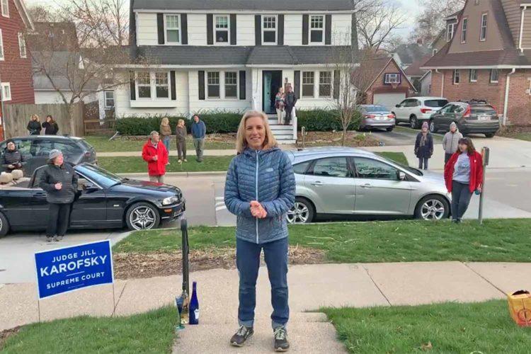 Votes suppressed, lives put at risk, but Jill Karofsky won anyway