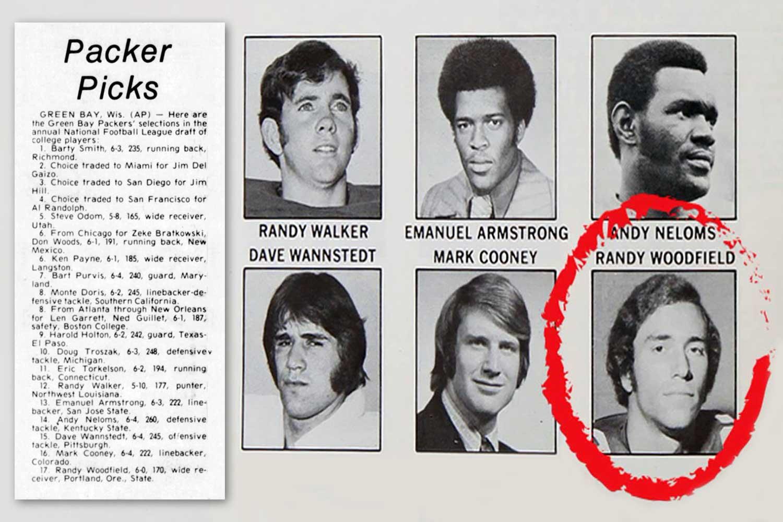 Packers' 1974 draft picks