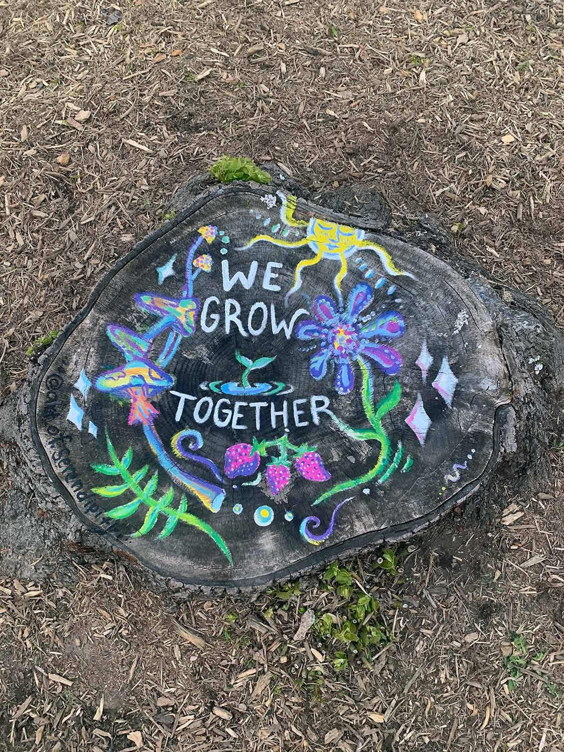 """We Grow Together"""
