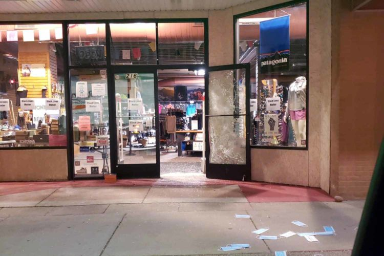 Relief fund set up to help downtown businesses damaged in riots