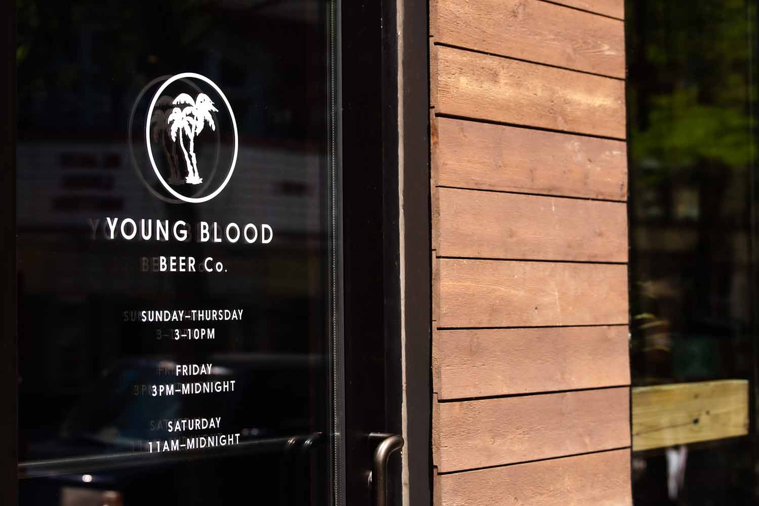Young Blood front door