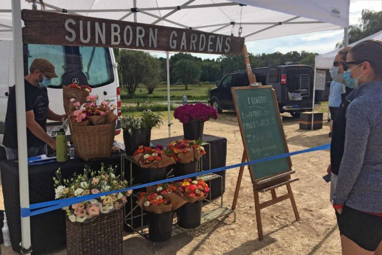 Dane County Farmers' Market opens walk-up option at Willow Island