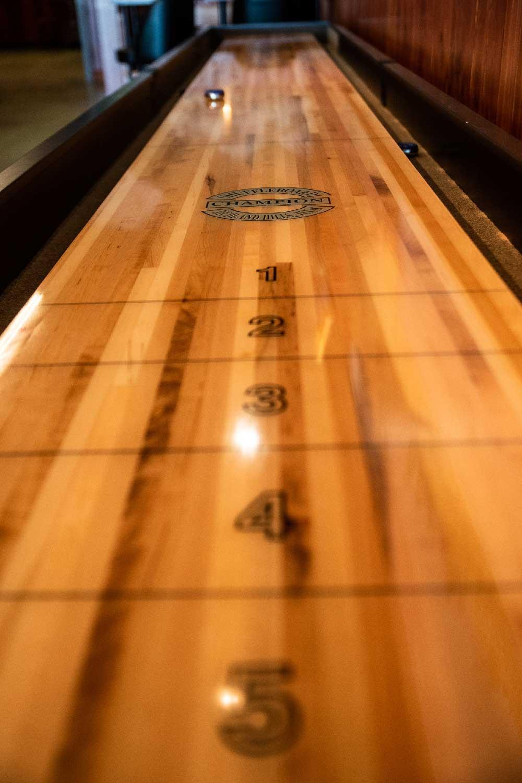 Muskie shuffleboard