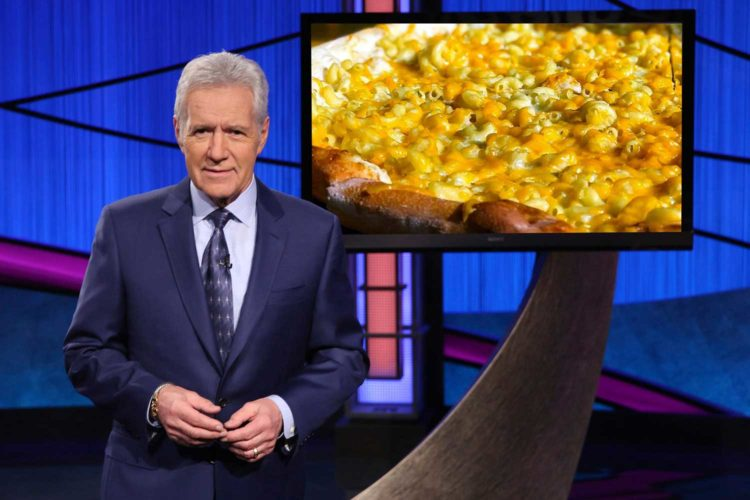 Raise a slice of Ian's Pizza for Alex Trebek, who visited here in 2008