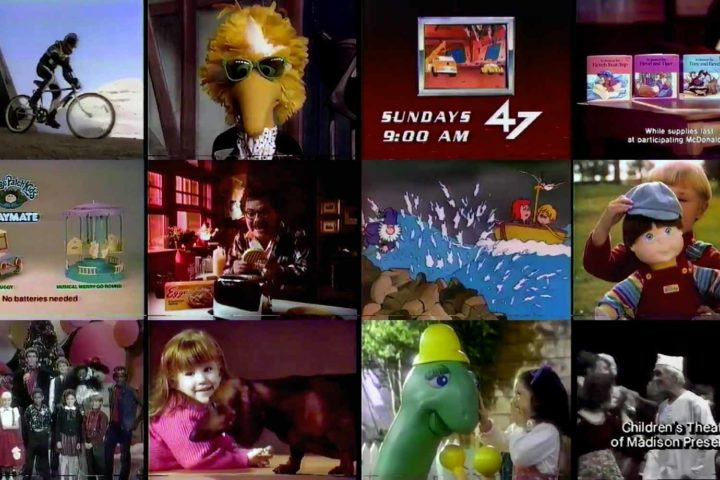 Let's watch some commercials from a Fox 47 broadcast in 1986