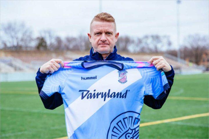 Forward Madison FC's new head coach has deep punk roots