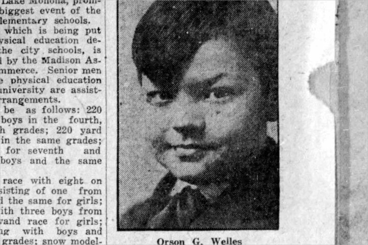 In 1926, The Cap Times introduced us to 10-year-old Orson Welles